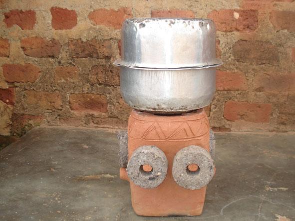 Rocket Stove Briquette ~ Uganda biomass briquette stoves library