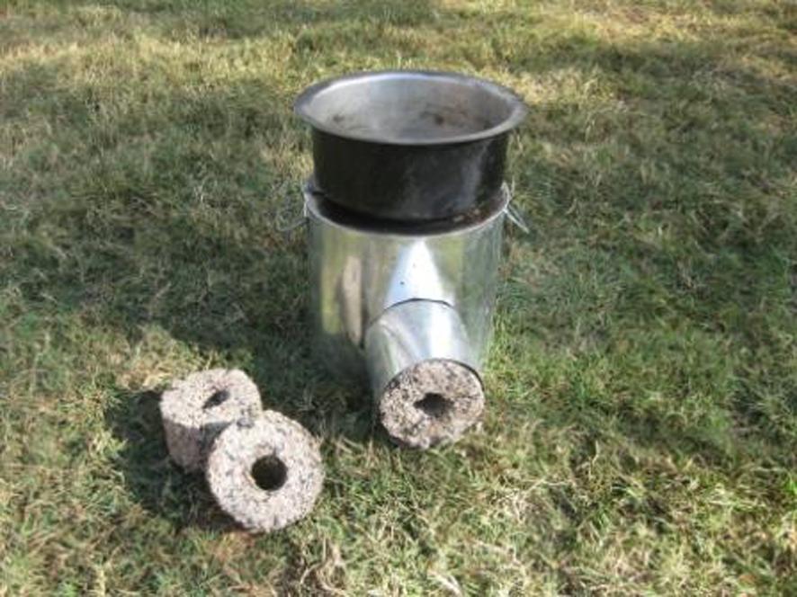 Rocket Stove Briquette ~ Malawi biomass briquette stoves