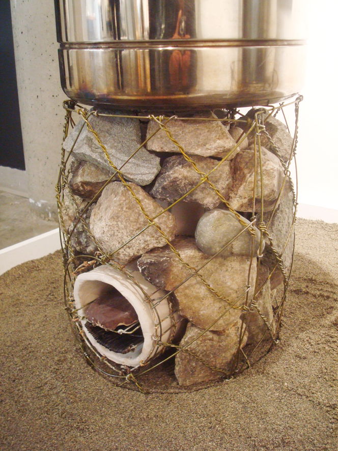 Wire stove biomass briquette stoves library for Portable rocket stove