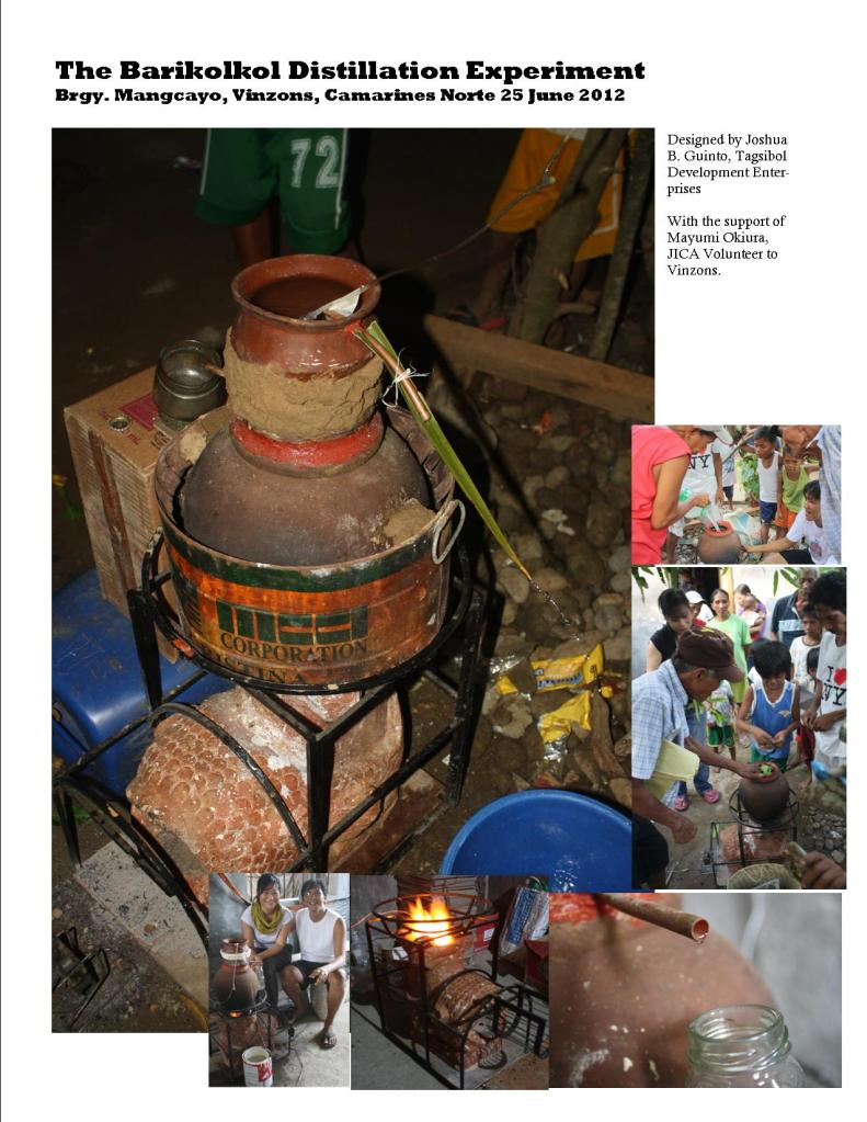 The Mangcayo Distillation Experiment